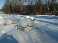 зимуем под снегом