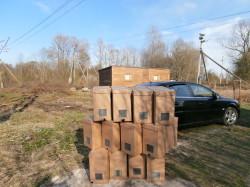 пакеты для перевозки пчёл на 4-6 рамок