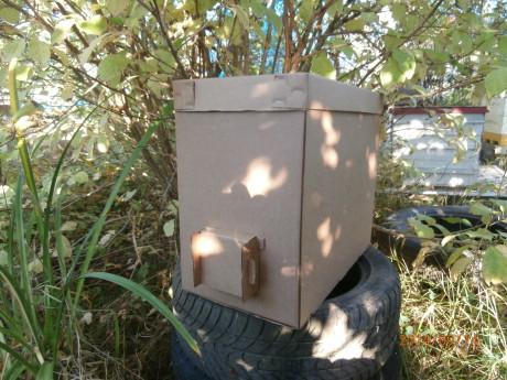 картонный пакет для пчел